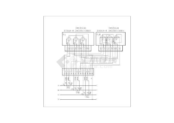 低压供配电电气cad设计常用图纸-图1