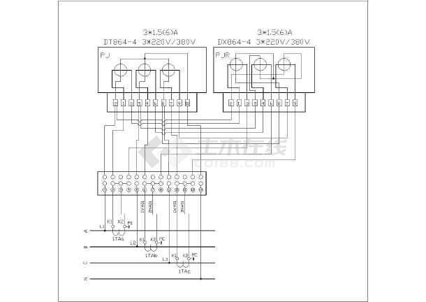 低压供配电电气cad设计常用图纸-图2
