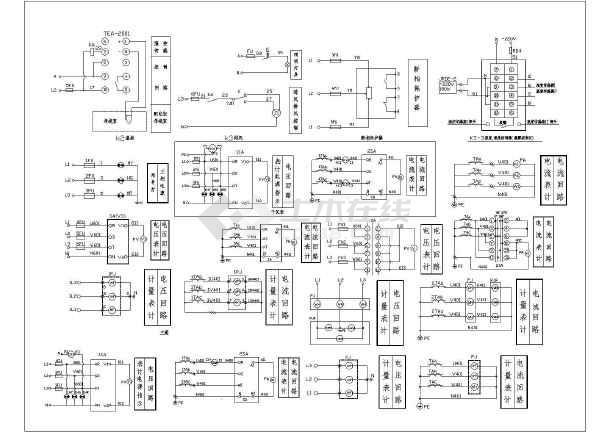 低压供配电电气cad设计常用图纸-图3