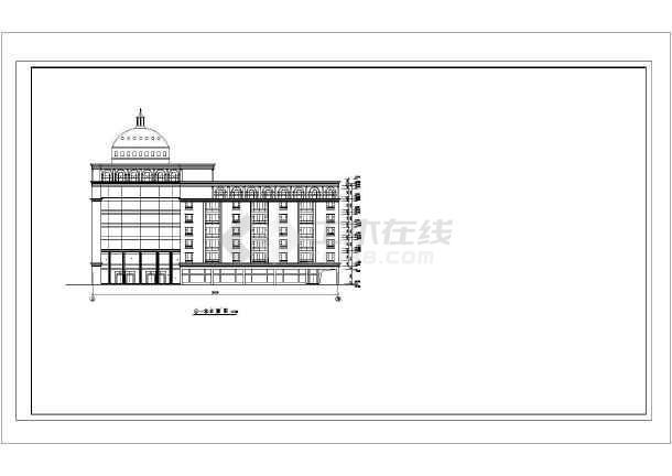 某地会议中心园林绿化设计施工平面图(全套)-图一