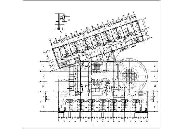 某地广场园林规划设计平面图(全套)-图二