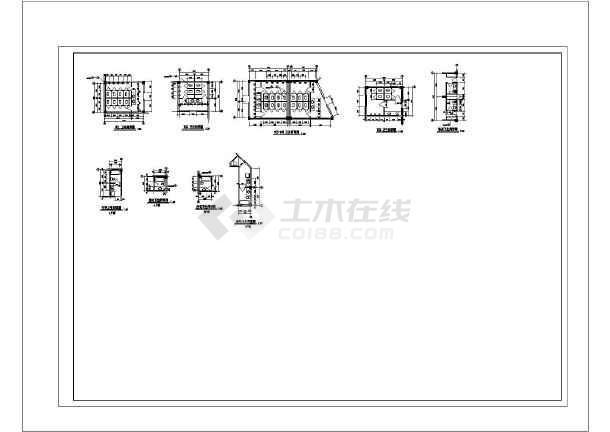 某地索道广场园林绿化设计平面图(全套)-图二