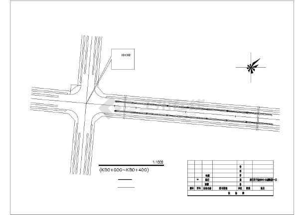 某地比较详细的广场园林景观施工图纸(全套)-图一