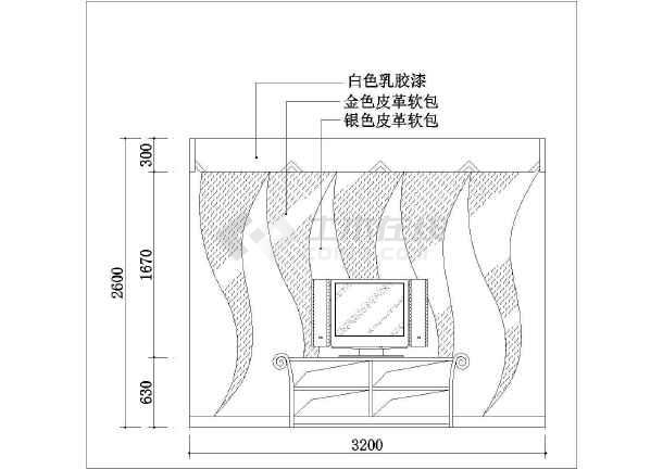 某地比较详细的广场园林景观施工图纸(全套)-图二