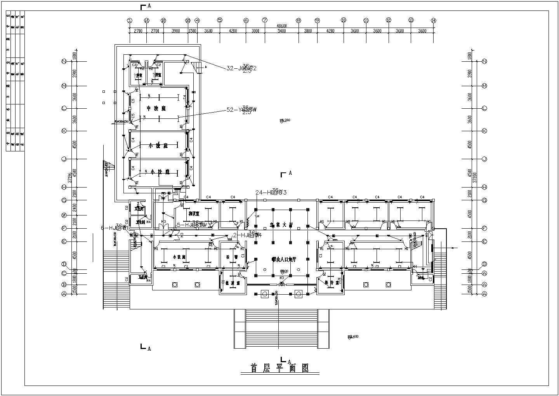 某地区多层办公楼电气谁施工总套图图片2