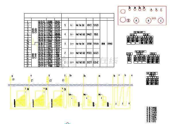点击查看变压器全套电气原理图纸(标注详细)第1张大图