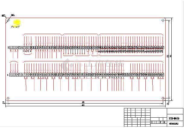 变压器全套电气原理图纸(标注详细)-图1