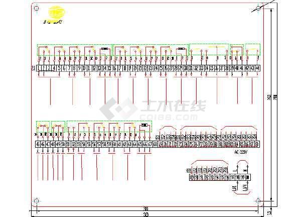 变压器全套电气原理图纸(标注详细)-图2