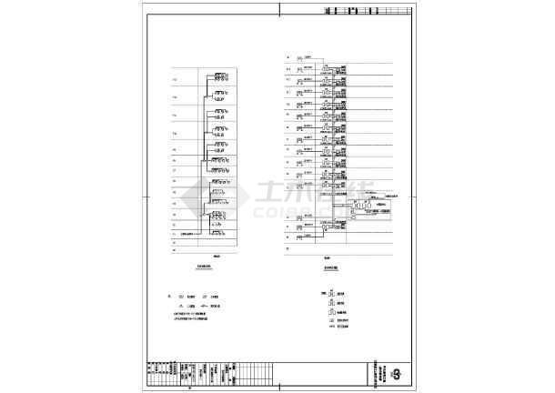 点击查看某地办公楼电气工程设计施工CAD图纸第1张大图