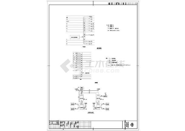 点击查看某地办公楼电气工程设计施工CAD图纸第2张大图