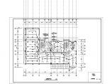 某地区环保局电气办公楼设计CAD图图片3