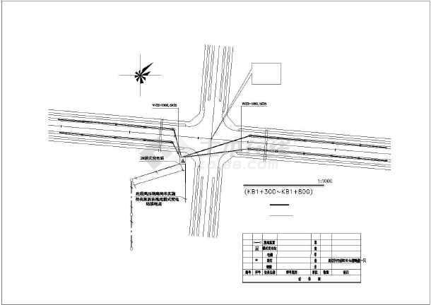 某地生肖广场园林绿化设计平面图(共计4张)-图一