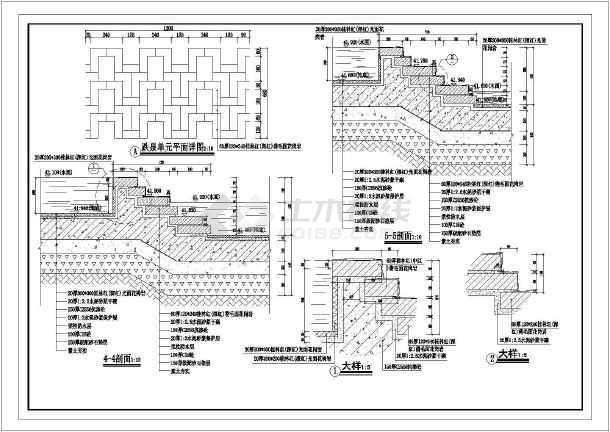 某地生肖广场园林绿化设计平面图(共计4张)-图二