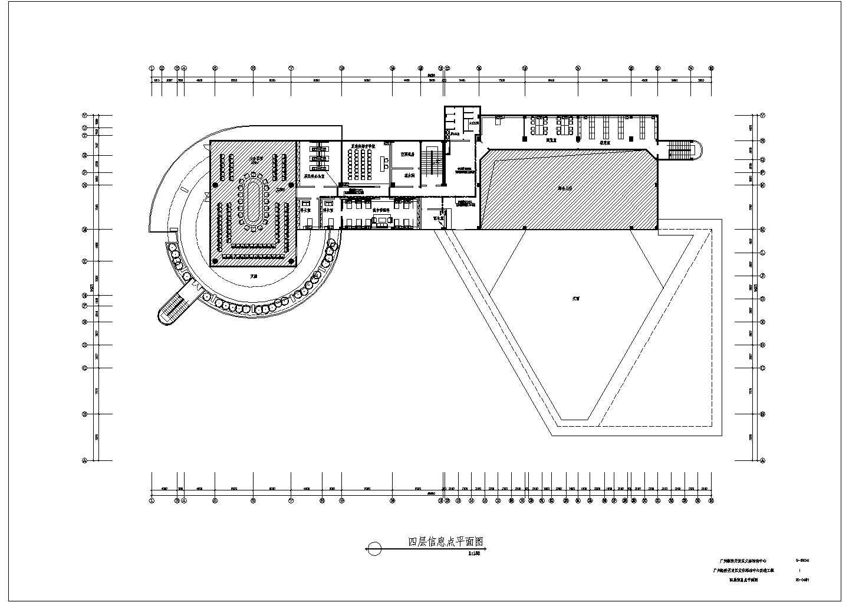 某地区经济开发区文体活动中心改造工程配电设计CAD施工图纸图片1