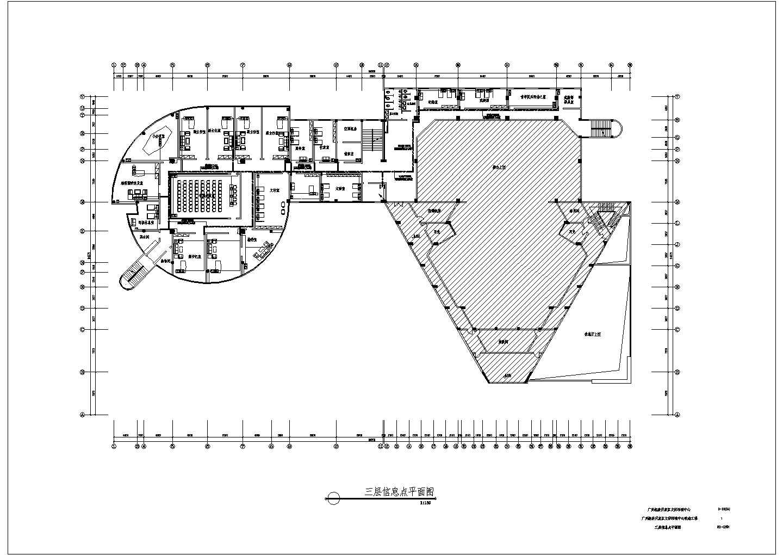 某地区经济开发区文体活动中心改造工程配电设计CAD施工图纸图片2