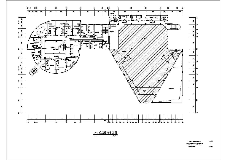 广州经济开发区文体活动中心改造工程配电设计CAD施工图纸图片1