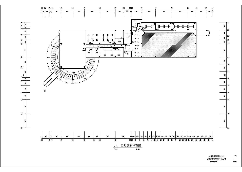广州经济开发区文体活动中心改造工程配电设计CAD施工图纸图片3