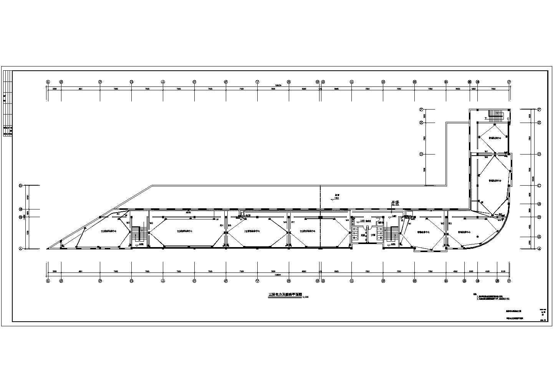 某地区多层办公楼电气设计图(含设计说明)图片2