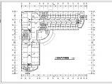 某地区大型办公楼电气照明施工图(共7张)图片2