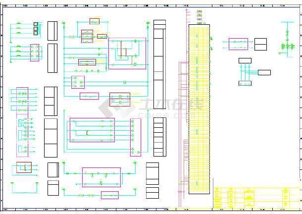 联合利华几种柜子电气控制原理图张-图一