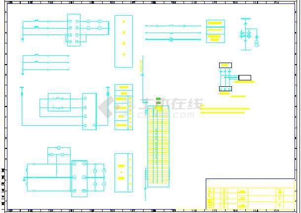 联合利华几种柜子电气控制原理图张-图二