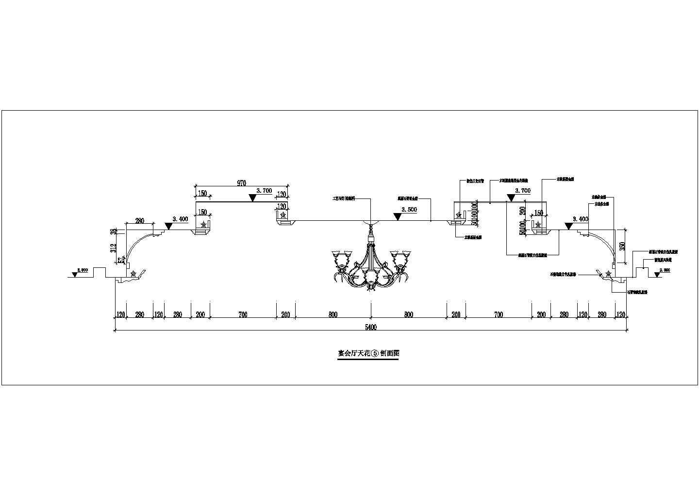 餐饮酒店类CAD施工图图纸三层酒店装修图一层平面图纸图片1