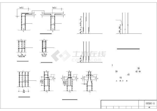 常用结构构造详细CAD图纸(全套)-图2