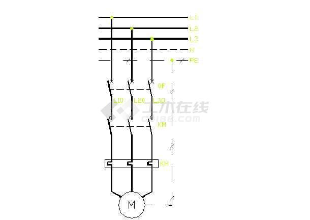 常用电气控制原理图[通用图](共37张)-图二