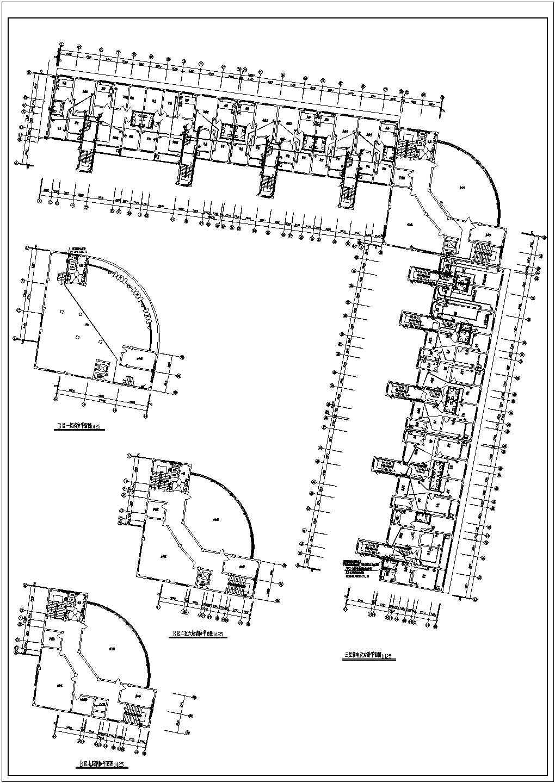 某地区多层办公楼电气设计方案施工图图片2
