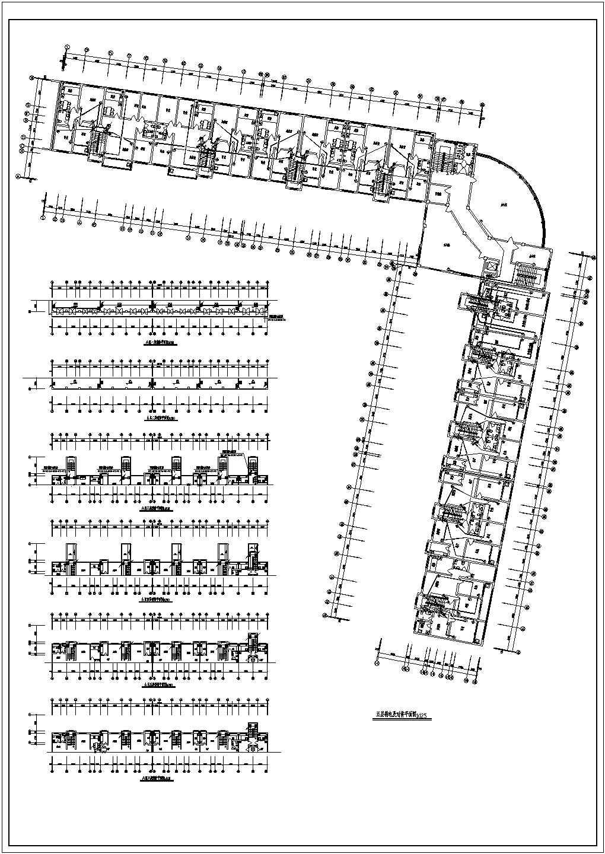 某地区多层办公楼电气设计方案施工图图片3