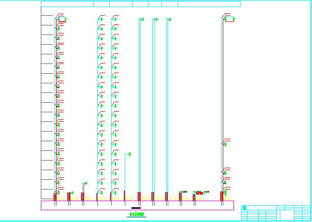 电缆绝缘穿刺线夹应用图纸(标注详细)图片1
