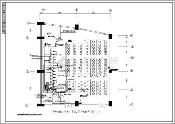 某地区市政府综合布线系统施工图(全套)-图2