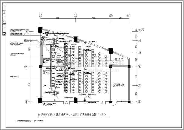 某地区市政府综合布线系统施工图(全套)-图3