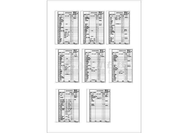 某地区市政府综合布线系统设计cad施工图-图二
