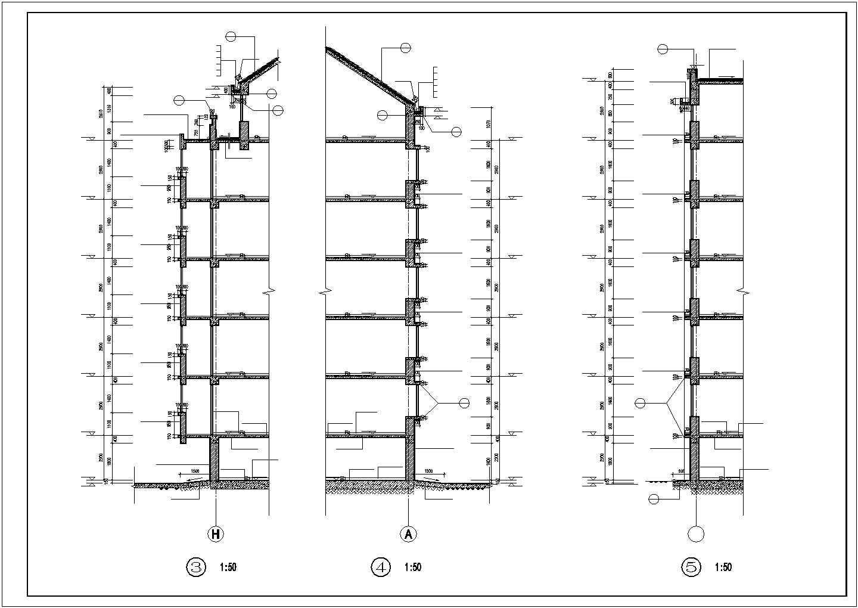 某地高新区居住区31栋住宅楼图纸图片2