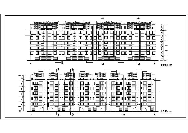 某地高新区居住区31栋住宅楼图纸图片3