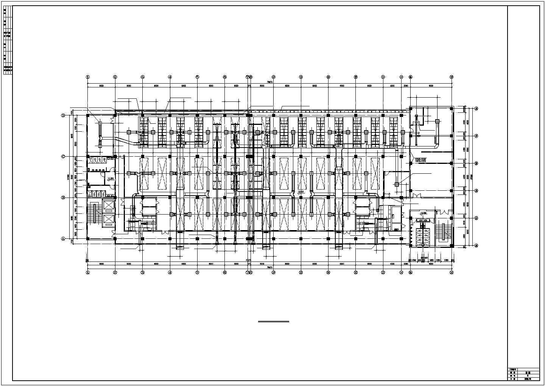 洁净厂房空调系统cad平面设计布置施工图图片3