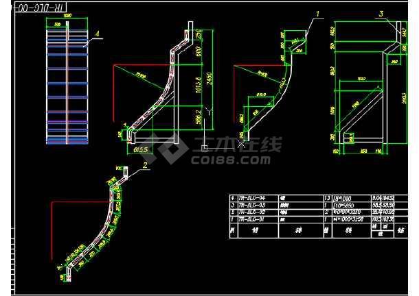 点击查看路桥工程渡槽结构与模板CAD设计套图第1张大图