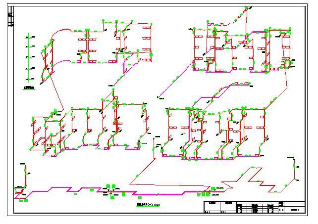 某四层商业建筑采暖系统图纸图片1
