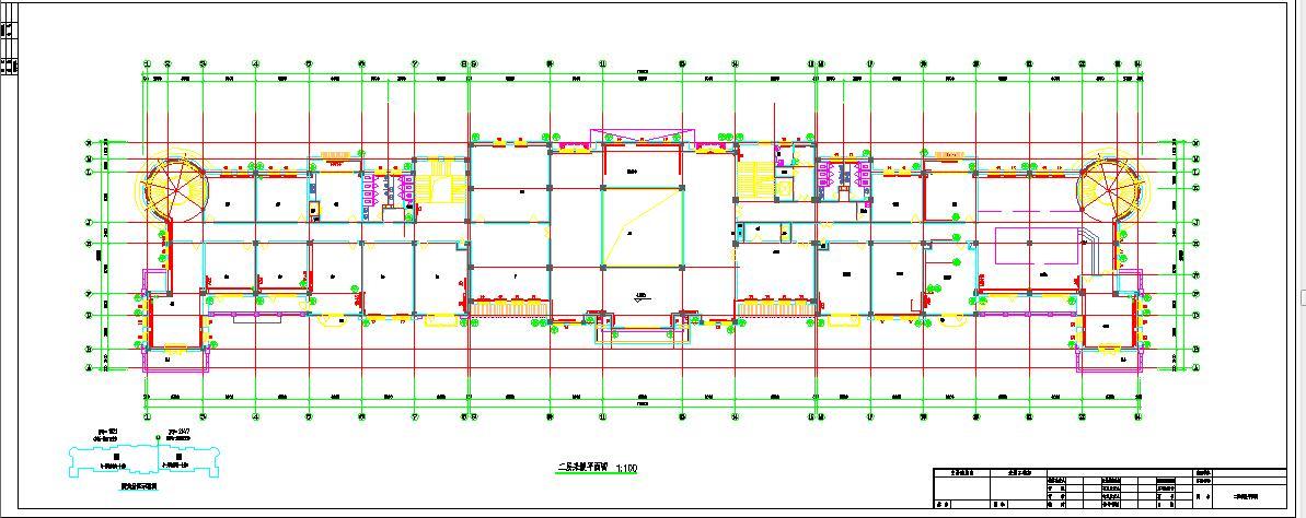 某四层商业建筑采暖系统图纸图片2