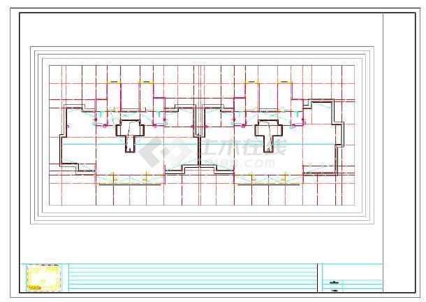 住宅产业化装配式施工图包含建筑结构-图二