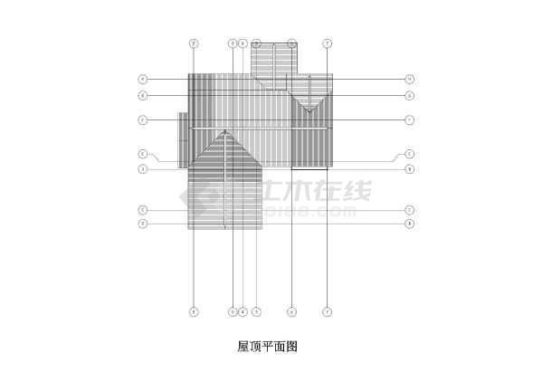 别墅模型图纸(BIM学习资料)-图1