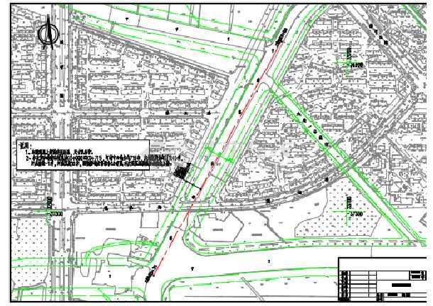 南方某地生态河道综合整治工程施工图-图3