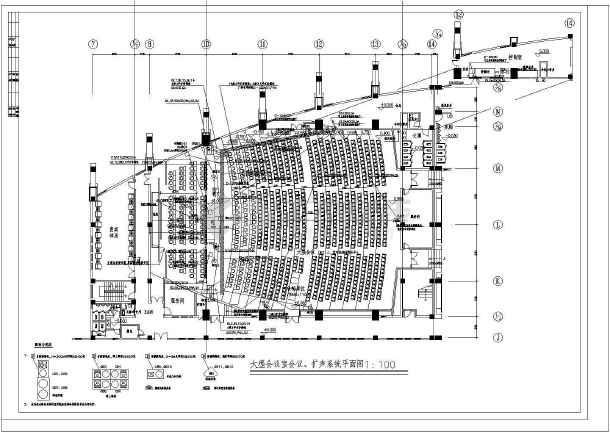 某地区市政府综合布线系统电气cad设计施工图-图2