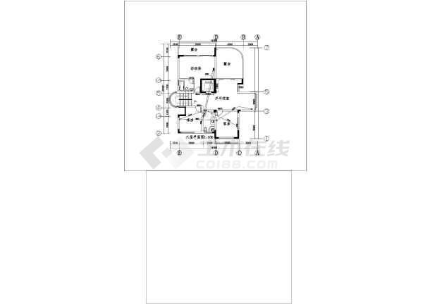 大华别墅建筑电气设计CAD全套施工图-图3