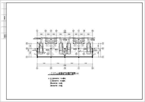 齐河达别墅建筑电气设计CAD全套施工图纸-图2