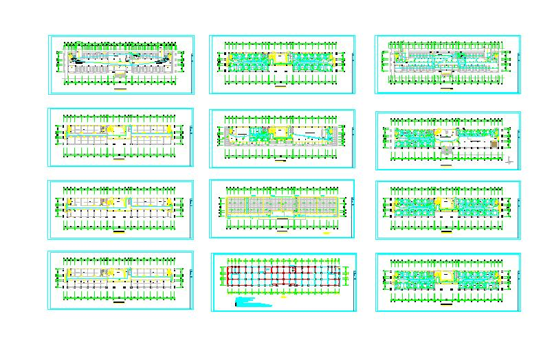 某地多层办公楼电气施工图(全套)图片1