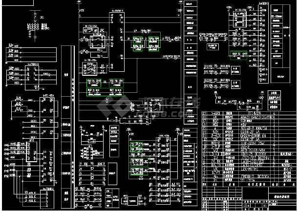 某地矿石码头改扩建工程电气图(共15张)-图1
