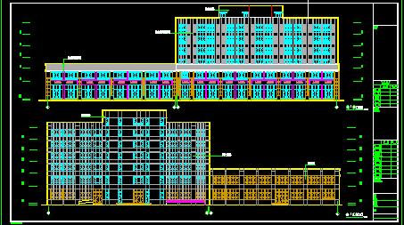 4739.98平米地下一层地上六层框架住宅楼毕业设计投标文件编制(清单报价、建筑图、结构图)图片2