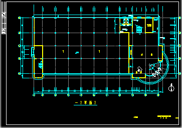 某框架结构办公楼建筑结构设计图纸毕业设计(含建筑图,结构图,施工进度计划表,施工平面布置图,施工组织设计论文)图片3